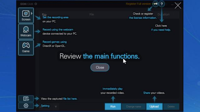 مميزات برنامج جوم كام للكمبيوتر