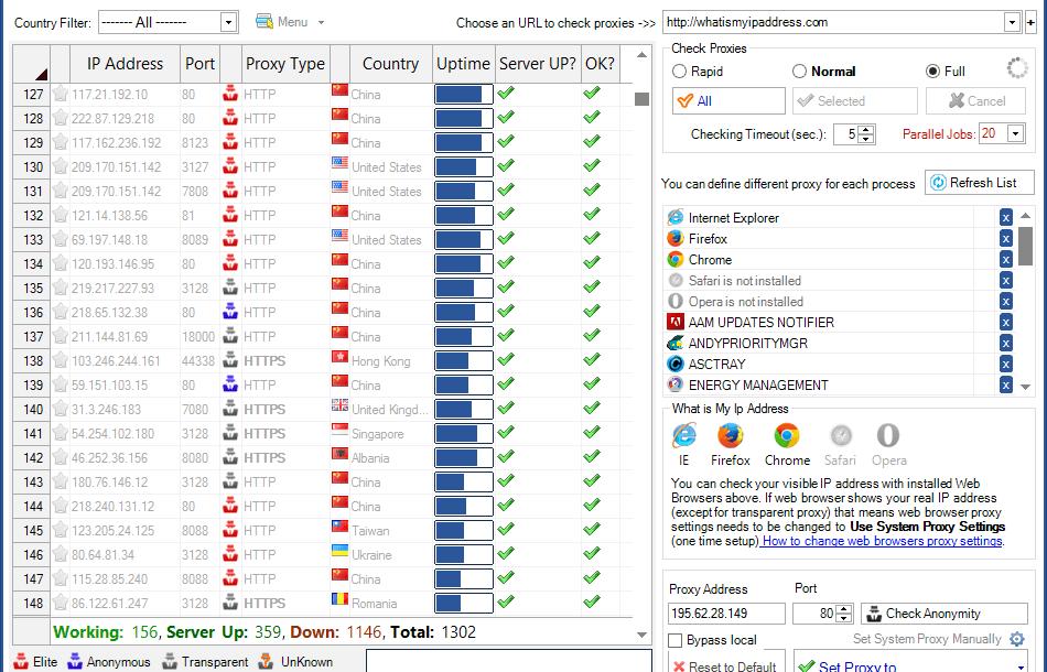 مميزات برنامج بروكسي للكمبيوتر