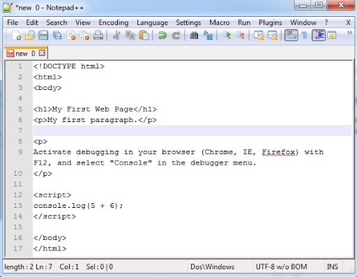 مميزات برنامج Notepad ++ للكمبيوتر